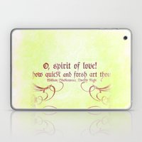O, Spirit Of Love! - Sha… Laptop & iPad Skin