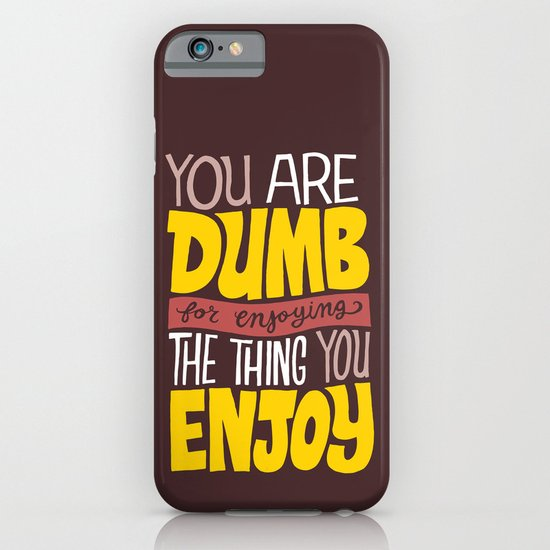 Internet Comments iPhone & iPod Case