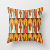 Colorful pattern Throw Pillow