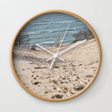 On to the Horizon Wall Clock