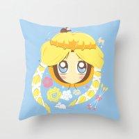 Park Princess Throw Pillow