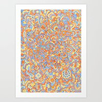 Sunshine Sharpies Art Print