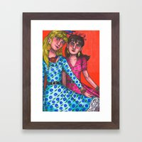 I Say Nothing Framed Art Print