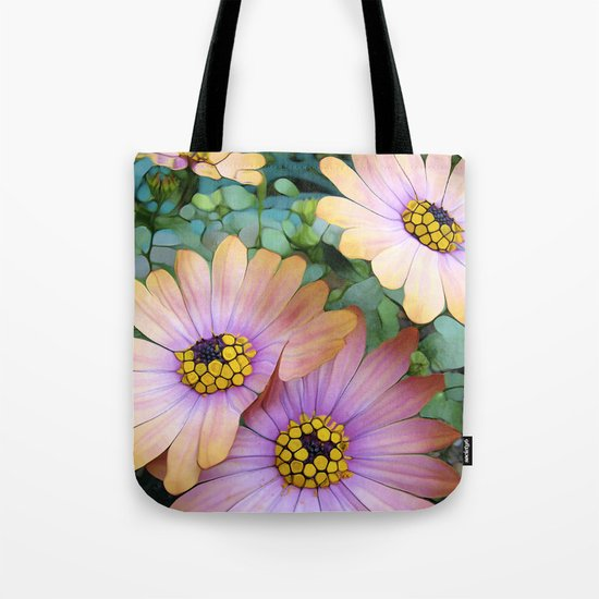 Glowing Gerbera's Tote Bag