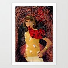 Talking Blooms Art Print