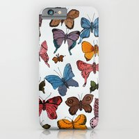 iPhone & iPod Case featuring Lepidoptera by Condor