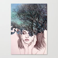 Scatterbrain Canvas Print