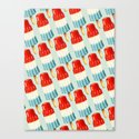 Bomp Pop Pattern Canvas Print