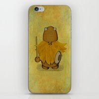 Hirsute Viking Homunculu… iPhone & iPod Skin