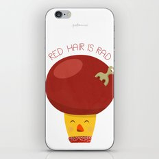 Red Hair is Rad iPhone & iPod Skin