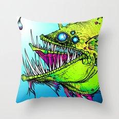 RUMBLEFISH Throw Pillow