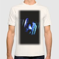 Guitar Mens Fitted Tee Natural SMALL