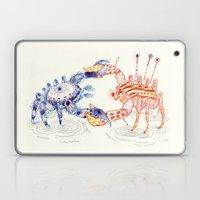 Crabby Fight Laptop & iPad Skin