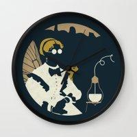 Junction Fae — Alchemist Wall Clock