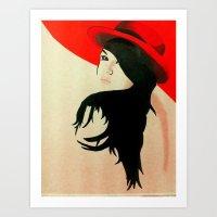 Red 1.0 Art Print