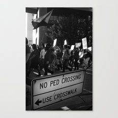 The People Canvas Print