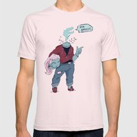 Dullahan Dame Mens Fitted Tee Light Pink SMALL