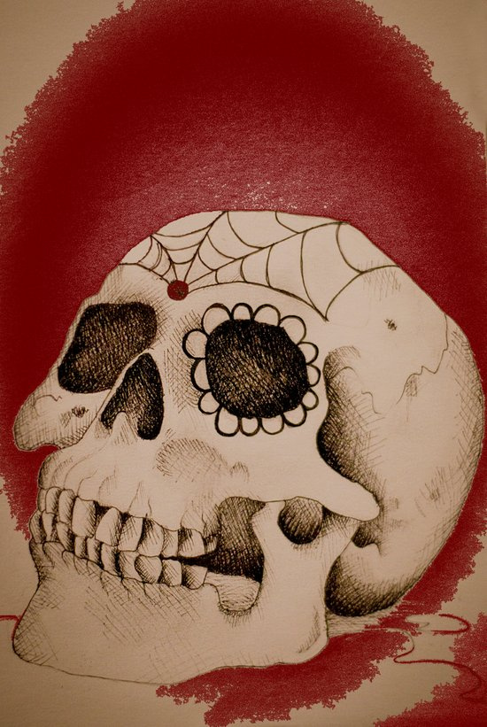 Outta My Skull Canvas Print