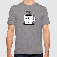 Mug. Mens Fitted Tee Tri-Grey SMALL
