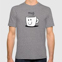 Mug. Mens Fitted Tee Tri-Grey SMALL