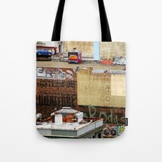 San Francisco behind the scene Tote Bag