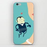 The vampire love iPhone & iPod Skin