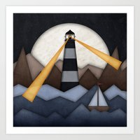 Show Me The Way To Go Ho… Art Print