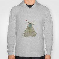 Moth Illustration  Hoody
