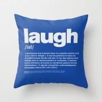 Definition LLL - Laugh 6 Throw Pillow