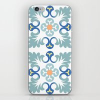 Floor tile 5 iPhone & iPod Skin