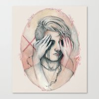 14/02 : Love Is A Blind Canvas Print