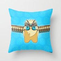 ZENON (the magical messenger) Throw Pillow