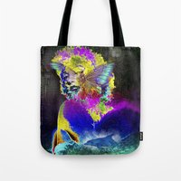 Marilin butterfly dolphin  Tote Bag