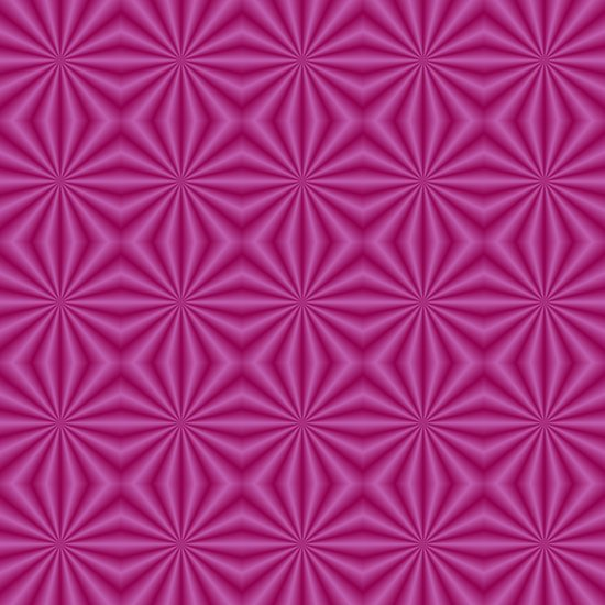 Purple Quilted Pattern Art Print