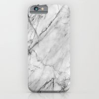 iPhone Cases featuring Marble by Patterns and Textures