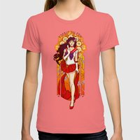 Spirit of Fire - Sailor Mars nouveau Womens Fitted Tee Pomegranate SMALL