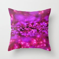 Electric Shine Throw Pillow