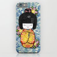 iPhone & iPod Case featuring Horror Vacui - Kokeshi01 by YIDO
