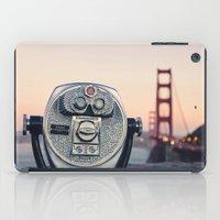 Golden Gate Sunset iPad Case