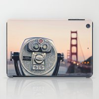Golden Gate Sunset iPad Case