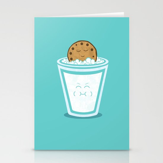Hot Tub Cookie Stationery Card