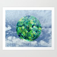 Little Planet #01 Art Print