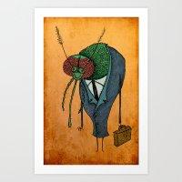 Executive Mosquito Art Print