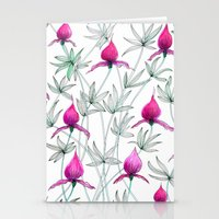 Small Purple Flowers Stationery Cards