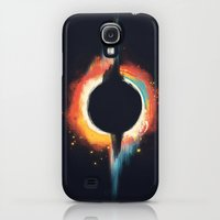 Galaxy S4 Cases featuring Void by Budi Kwan