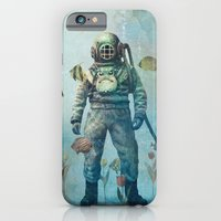 iPhone Cases featuring Deep Sea Garden  by Terry Fan