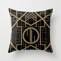 MJW- GREAT GATSBY STYLE Throw Pillow
