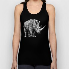 Rhinoceros Unisex Tank Top