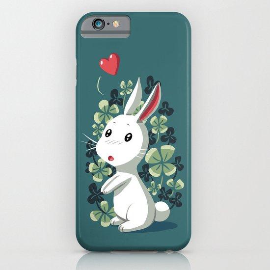 Clover Bunny iPhone & iPod Case