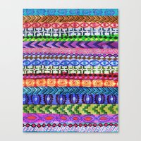Peru Stripe II Canvas Print